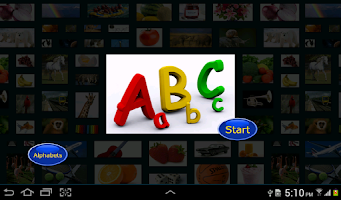 Screenshot of My first book of English ABC