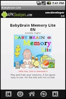 Screenshot of Babybrain Lite