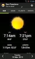 Screenshot of Sundroid Pro Sunrise Sunset