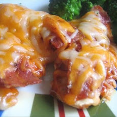Cheddar Bar-B-Q Chicken Breasts!!!
