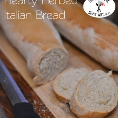 Hearty Herbed Italian Bread