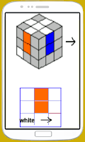 Screenshot of Rubik's Cube Steps