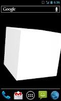 Screenshot of Cube 3D Free Live Wallpaper