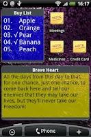 Screenshot of Ultra Notes