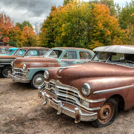 Car Lot by Jeff Ewig - Transportation Automobiles (  )