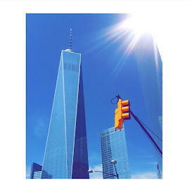 My pictures are the dopest... Not gunna lie 😏 .. This shot I took of the freedom tower is the prettiest picture iv took in my life by Janeyańa Sophia - City,  Street & Park  Historic Districts