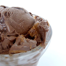 Chocolate Fudge Swirl Peanut Butter Ice Cream