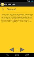 Screenshot of Egg Timer Pro
