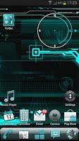 Screenshot of CYANOGEN GO Launcher EX Theme