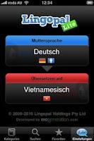 Screenshot of Lingopal Vietnamese Lite
