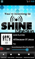 Screenshot of Shine.FM / Positive Hit Music