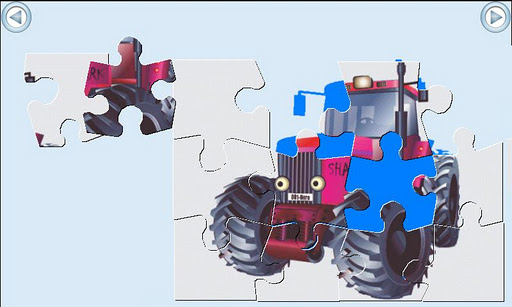Tractor Series Puzzle