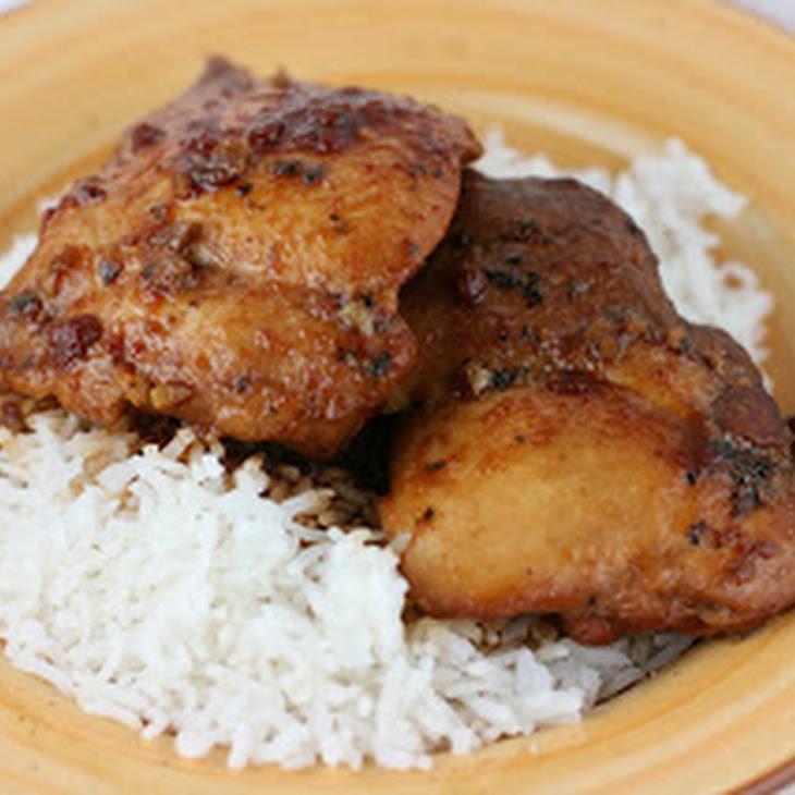 honey garlic chicken slow cooker door a year of slow cooking ...