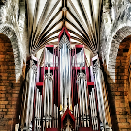 Pipes by Philip McKibbin - Instagram & Mobile iPhone ( music, piano, church, organ, sing, songs, play, hymns, musician, notes, pianist, pipe )