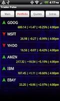Screenshot of Trader Pulse