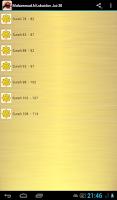 Screenshot of Muhammad Al Luhaidan Quran MP3