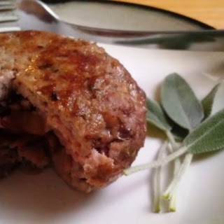 Paleo Apple and Bacon Rosemary Pork Burgers