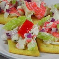 Imitation Crabmeat Salad