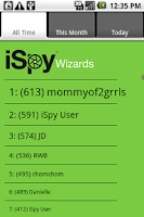 Screenshot of iSpy