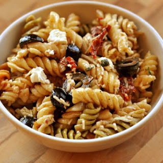 Mediterranean Pasta Salad Feta Recipes