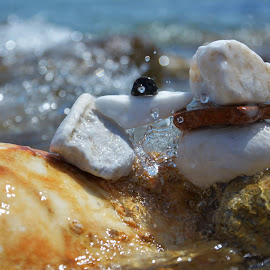 This is... THASSOS! Rocks & Water 02  in 07 June 2014 by Lux Aeterna - Nature Up Close Rock & Stone (  )