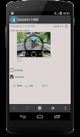 Screenshot of Driver License Test