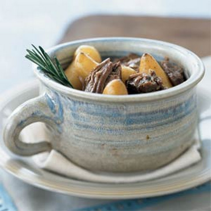 Rosemary-Garlic Roast Leg Of Lamb With Red Potatoes Recipes ...