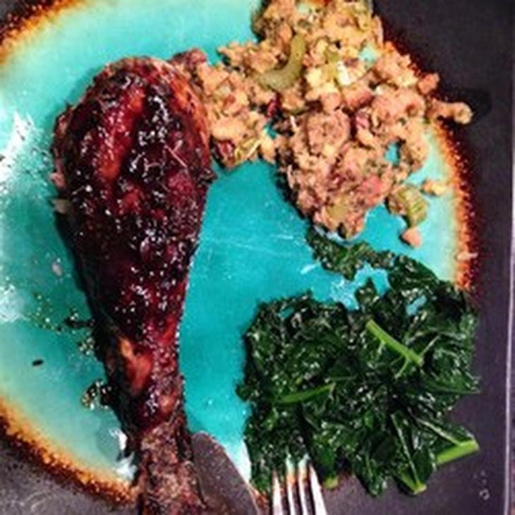 730 x 730 jpeg 122kB, Roasted Turkey Legs Recipe | Yummly