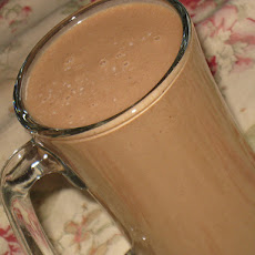 Low-fat Thick and Creamy Chocolate Shake