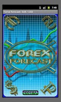 Screenshot of Forex Forecast rates