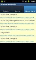 Screenshot of Gazeteler ve Dergiler