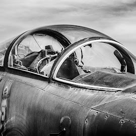 Old Canopy by Stevan Tontich - Transportation Airplanes