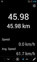 Screenshot of GPS Tripmeter