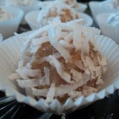 Rum and Coconut Balls