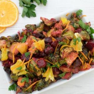 Brussels Sprouts & Beetroot Salad