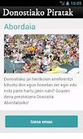 Screenshot of Donostiako Piratak 2012