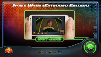 Screenshot of MovieRide FX