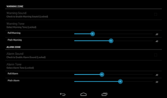 Screenshot of Inclinometer Free