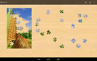 Screenshot of Flowers Jigsaw Puzzles