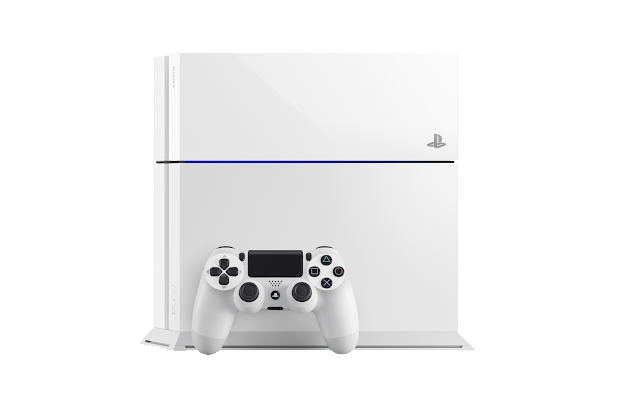 White PS4 will see a solo release in Europe later in the year
