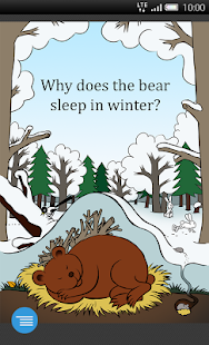 Why does the bear sleep? - screenshot
