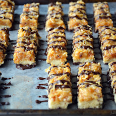Homemade Samoas Cookie Bars