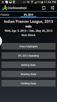 Screenshot of Cricscoredroid Live Cricket