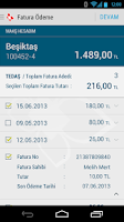 Screenshot of Türkiye Finans Mobile Branch