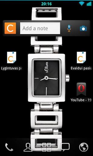 SOliver womans Desktop Watch