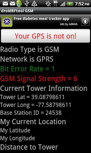 droidRFTool for GSM