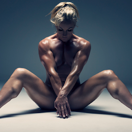 by Jordan Morgans - Nudes & Boudoir Artistic Nude ( nude, naked, muscle, muscular, female muscle,  )