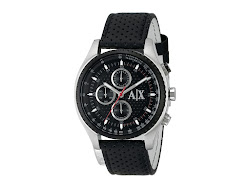 AX Armani Exchange - The Driver Two (Black) - Jewelry