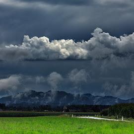 by Bojan Porenta - Landscapes Cloud Formations ( clouds, landscape )