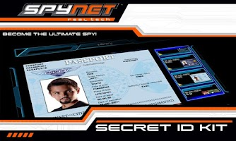 Screenshot of Spy Net Secret ID Kit